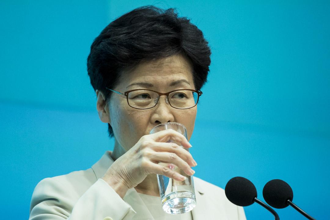 2019年6月18日,林鄭月娥召開記者會,「向每一位香港市民真誠道歉」,但未回應撤回條例、取消暴動等五大訴求。