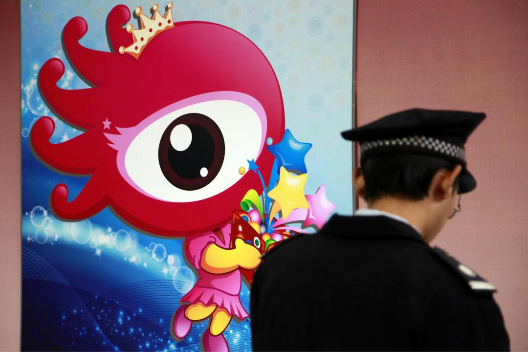 大陸網民因發布批評消防體制的微博,被中國消防指「侮辱英烈」,遭深圳網警抓人。 攝:Getty Images