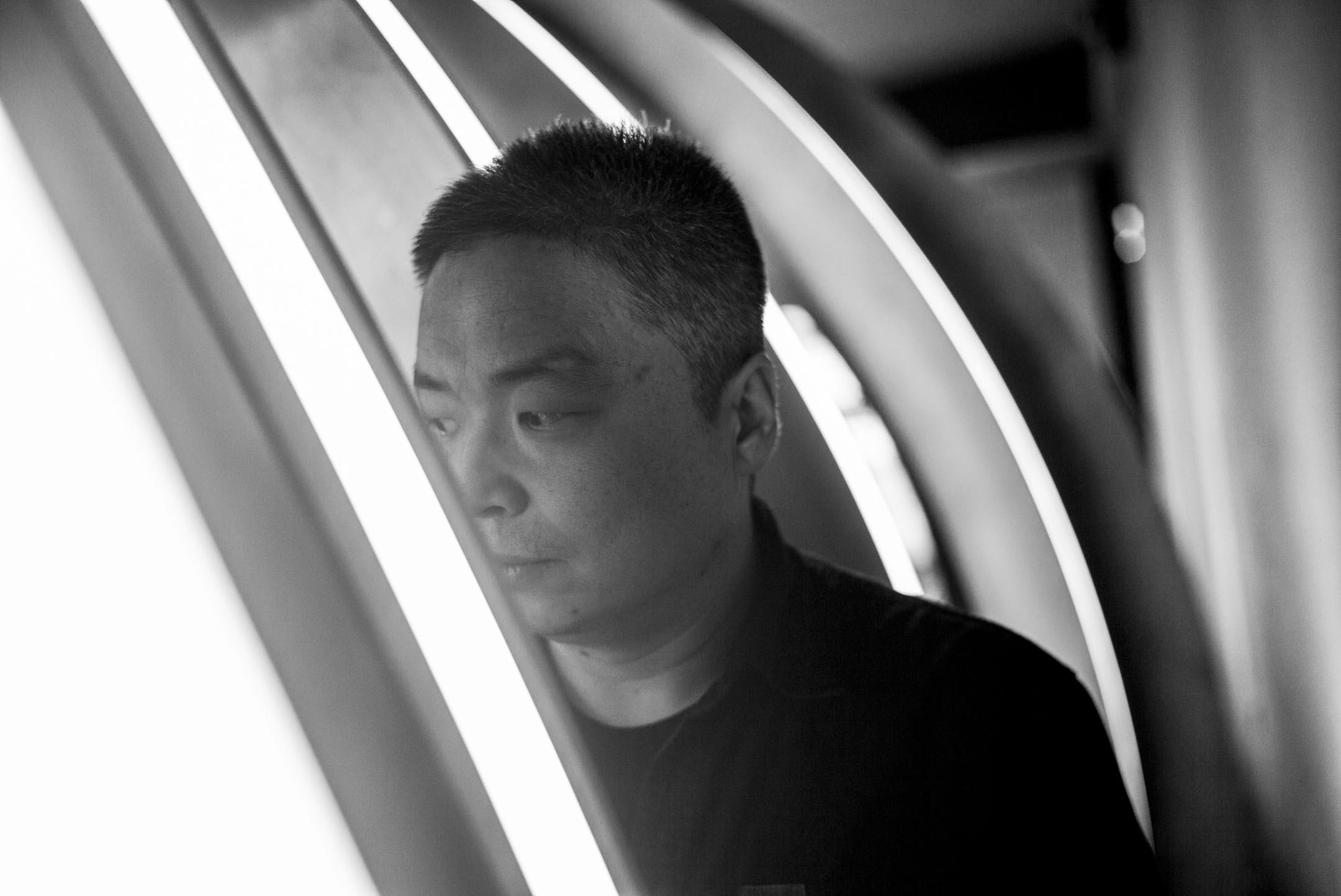 蔡成杰。 攝:林振東/端傳媒