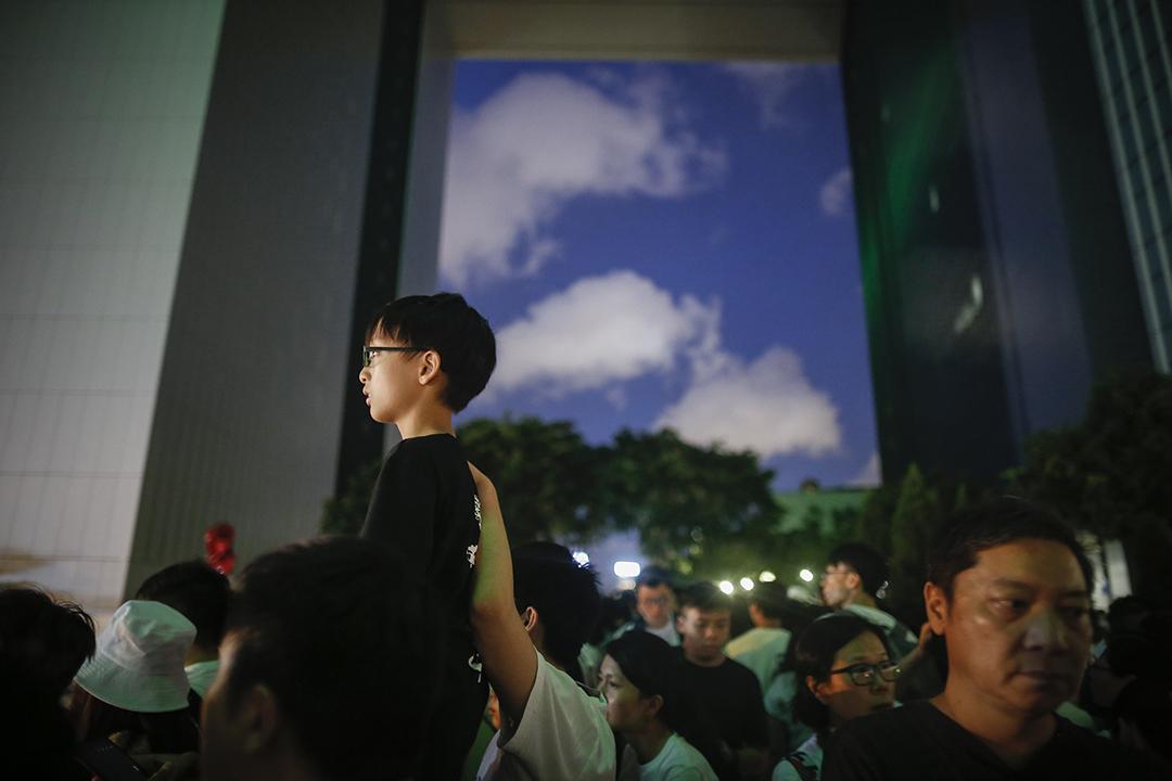2019年6月9日,民間人權陣線發起反修例大遊行。