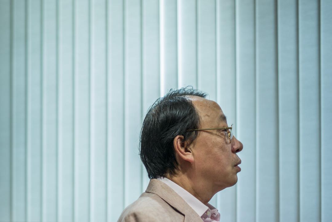陳景生資深大律師。