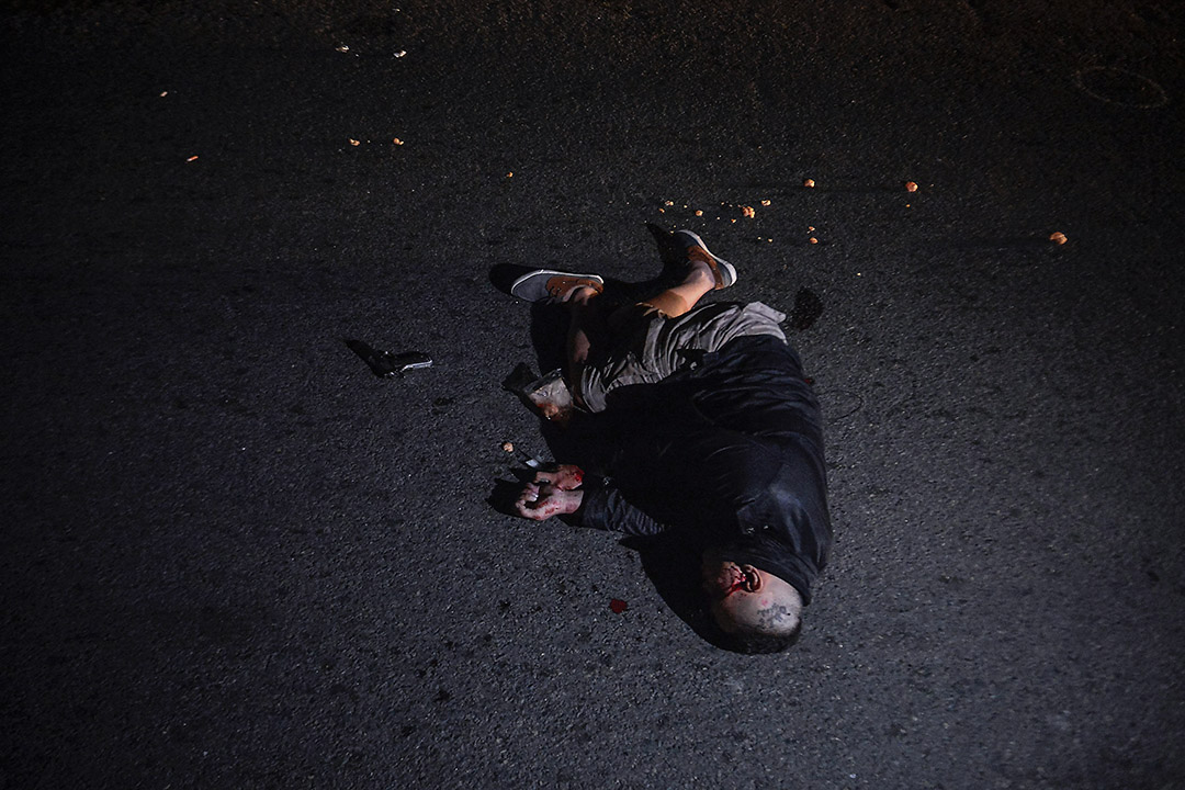 2017年8月17日,菲律賓馬尼拉一名男子反非法毒品行動𥚃中槍死亡。