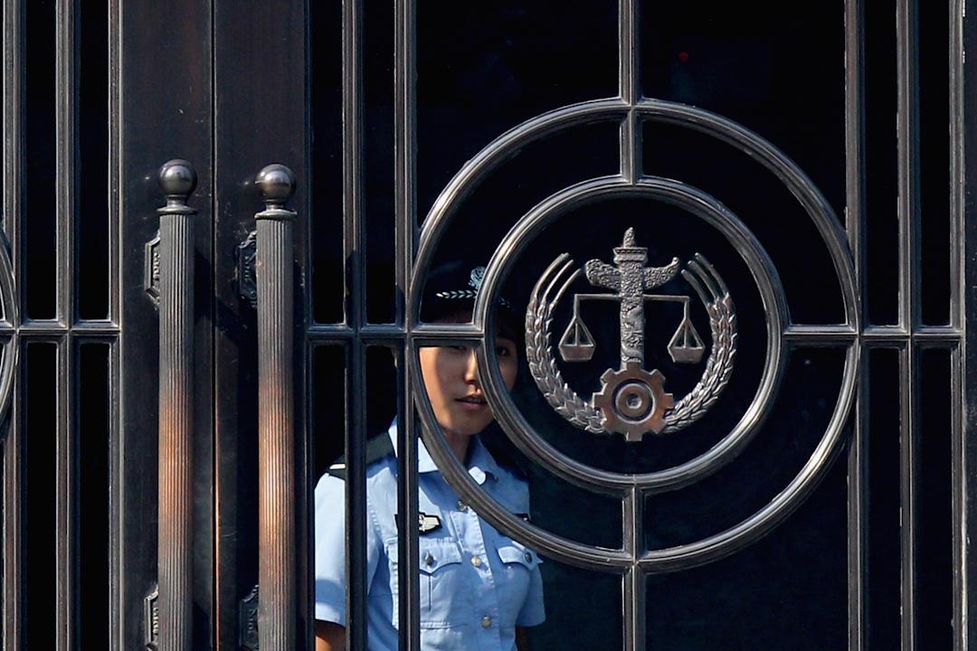 深圳市羅湖區紅嶺中路的最高人民法院。 圖:IC photo