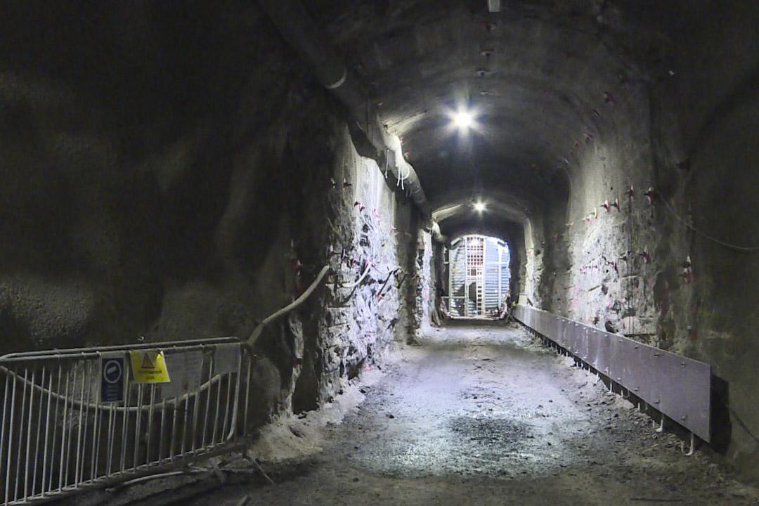 實驗隧道。