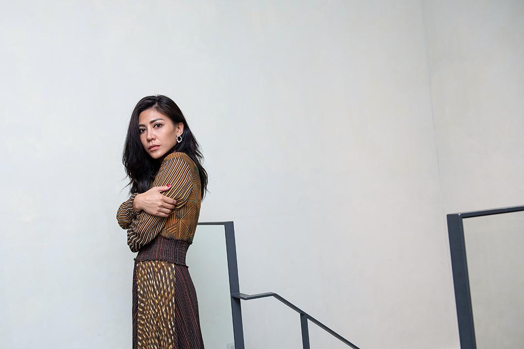 歌手艾怡良。