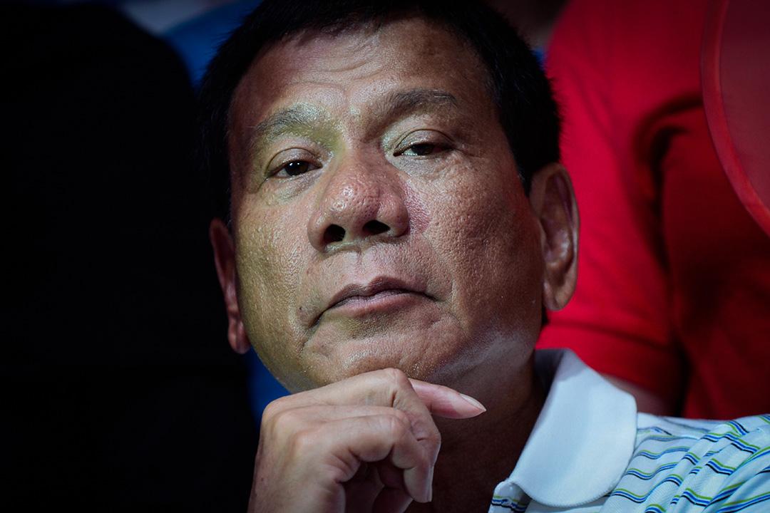 菲律賓總統杜特爾特。