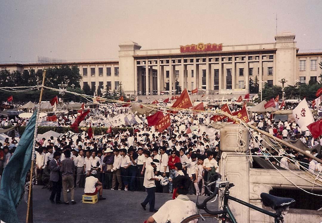1989年,北京天安門廣場。