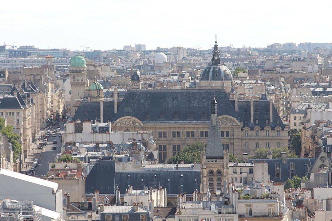 巴黎索邦大學遠景。