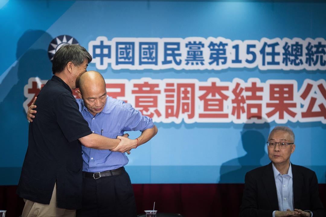 國民黨初選結果,韓國瑜大勝郭台銘,將代表藍營角逐總統。