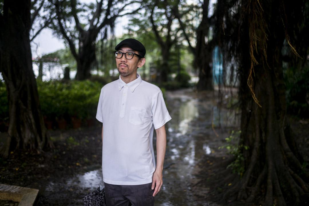 香港科幻小說作家譚劍。