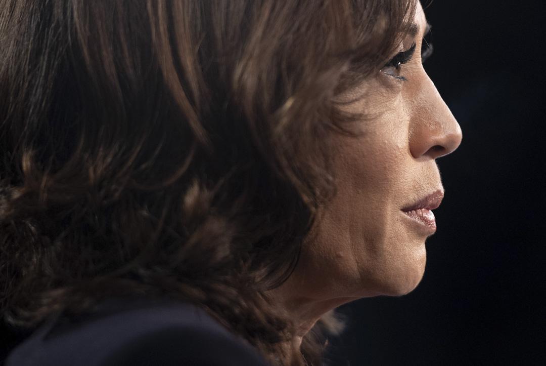 2019年6月27日,美國民主黨初選辯論,賀錦麗(Kamala Harris)。