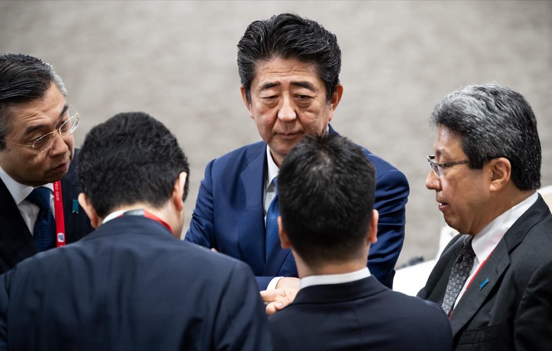 東京希望藉 G20 作為全球指導小組的中心地位,試圖跳脫沉悶的貿易戰,設定更多全球議題。