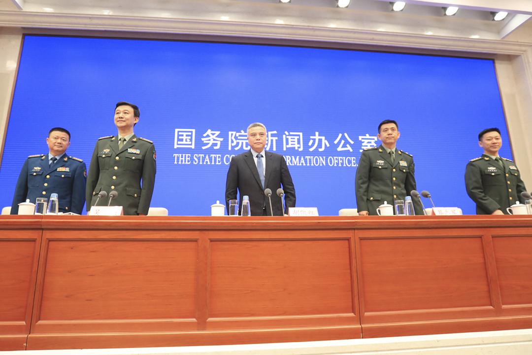 2019年7月24日,中國國務院發表 《新時代的中國國防》白皮書。 圖片來源:東方 IC