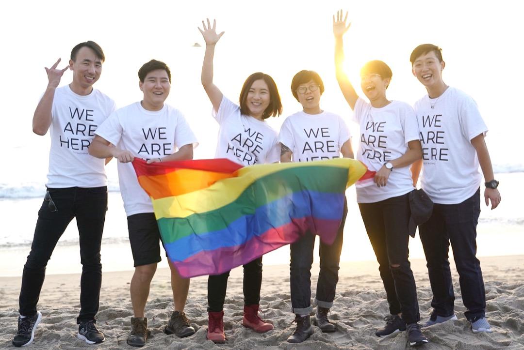 三年前,蔣夢珏成立「出櫃中國(OutChina)」,一個集結中國同志出櫃故事的網站,為的是讓中國的同志故事,向全世界「出櫃」。 圖:受訪者提供