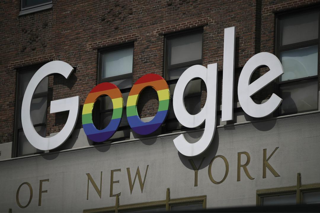 2019年6月3日,Google 在紐約辦事處。 攝:Drew Angerer/Getty Images