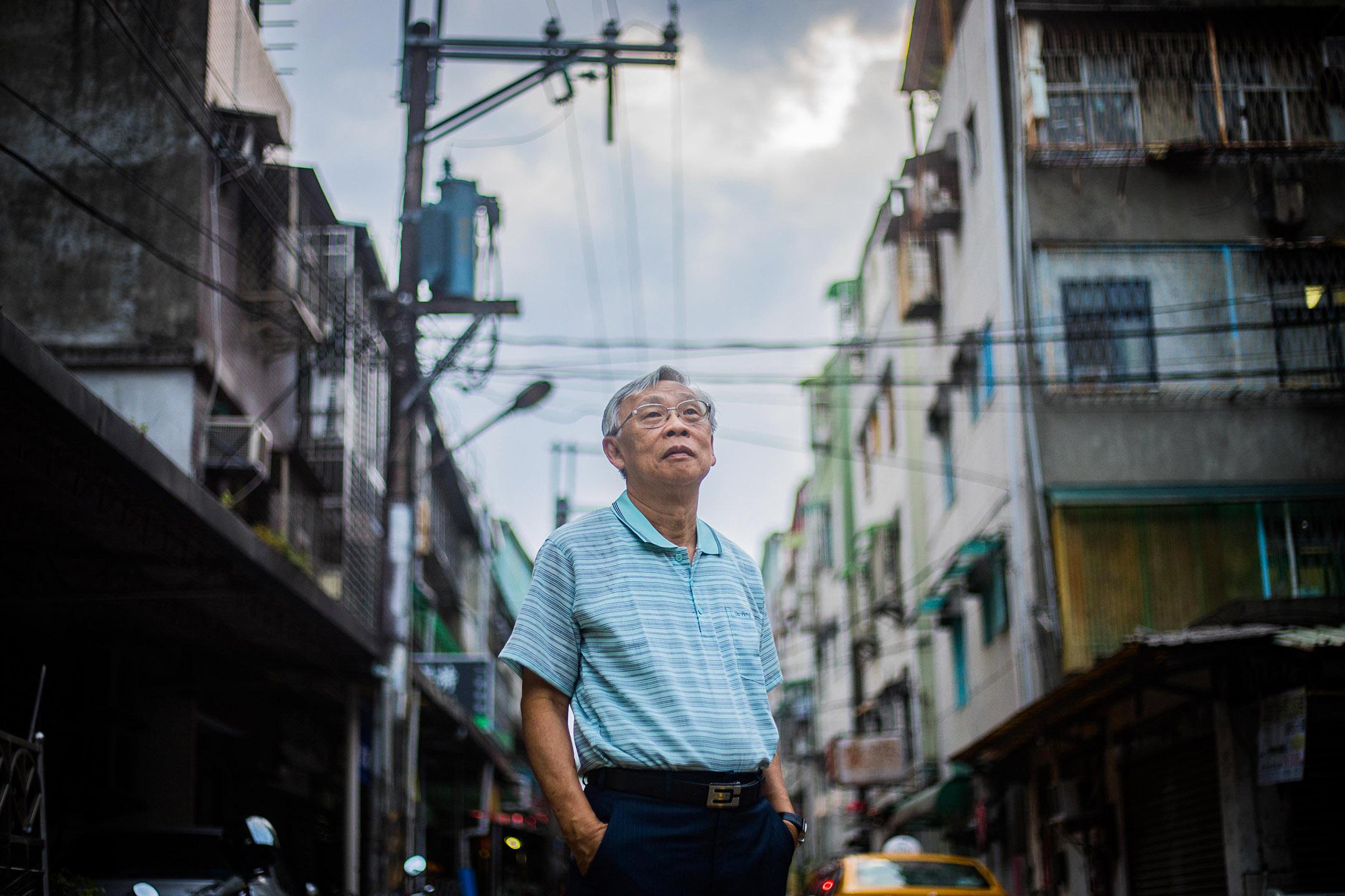 來自馬來西亞的白色恐怖受難者陳欽生先生。  攝:陳焯煇/端傳媒
