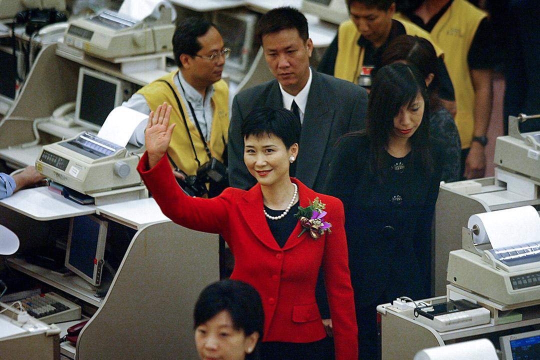 李鵬的女兒李小琳。