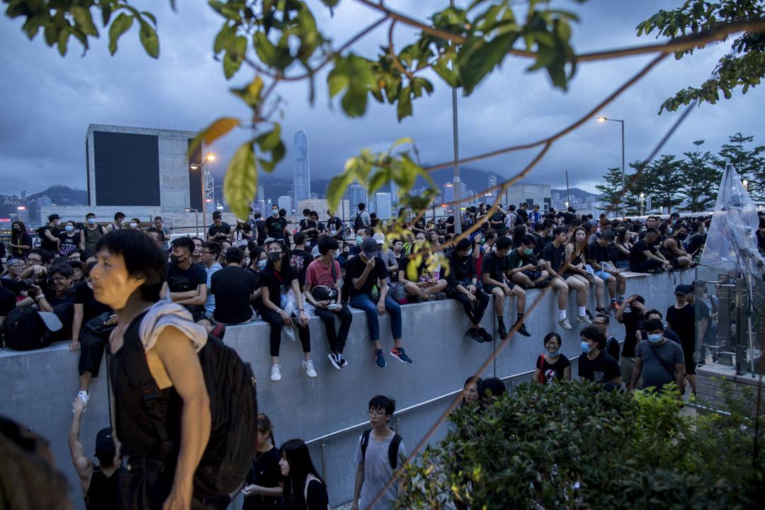 積極參與每次佔領示威行動的,絕大部分都是年輕人,不願再聽天由命,在絕望中向權力作出激烈的抗議。 攝:林振東/端傳媒