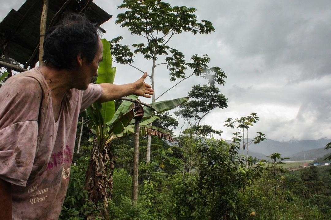 圖為舒阿爾族人Mariano Mashendo,2016年,他與老母被逼離開他們的祖上留下的房子。兩年後,年過百歲的老母親去世,Mariano如今獨自生活在礦區附近的一個小木屋里。