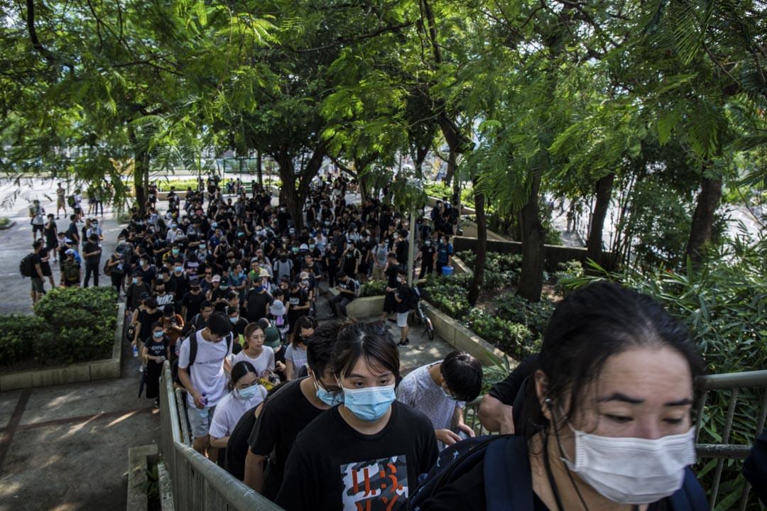 2019年8月10日,大埔遊行。