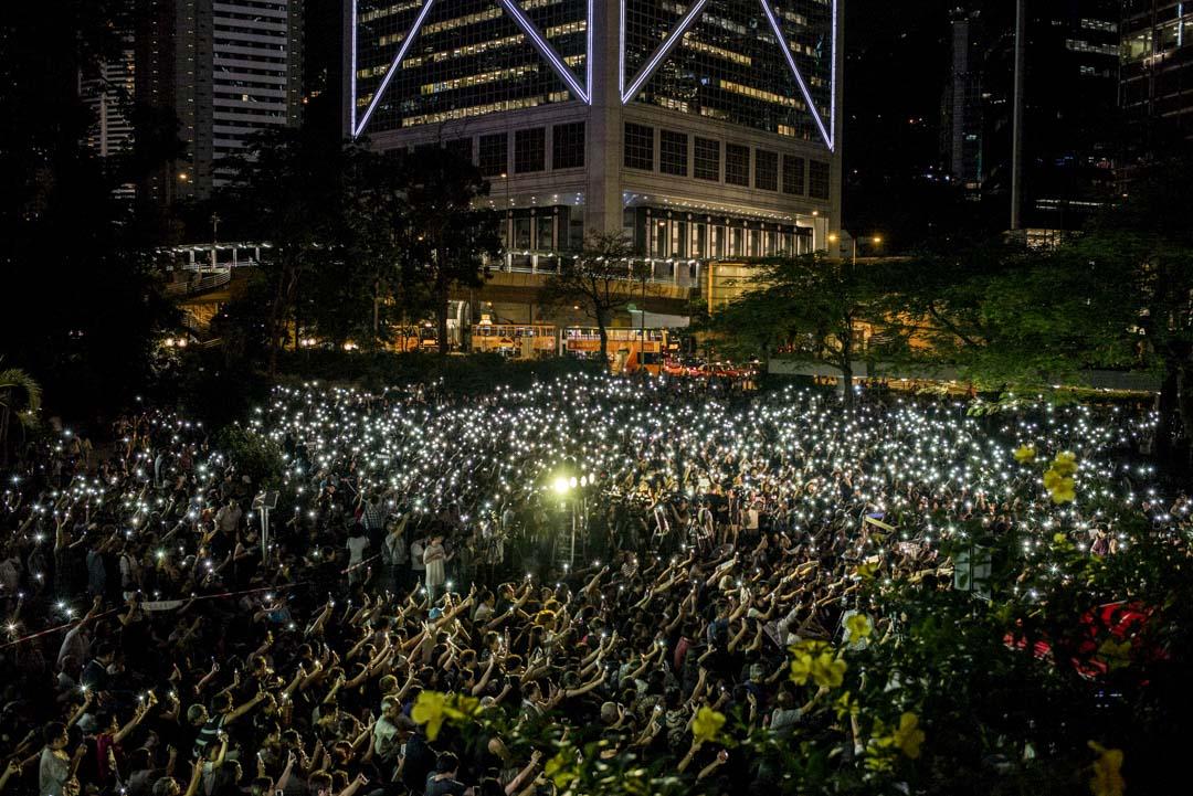 2019年7月5日,全港媽媽反送中集氣大會,大會宣布約8000人參與。