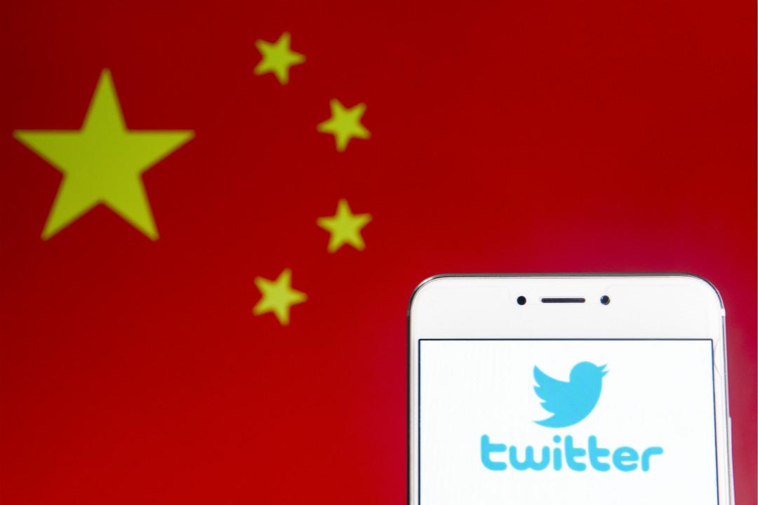 2019年8月19日,Twitter 公布並封鎖了936個來自中國政府的水軍帳號,指其詆毀香港運動。 攝:Getty Images