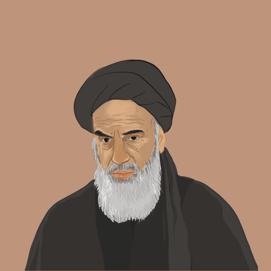 鲁霍拉·霍梅尼,大阿亞圖拉,伊朗革命後的第一任最高領袖