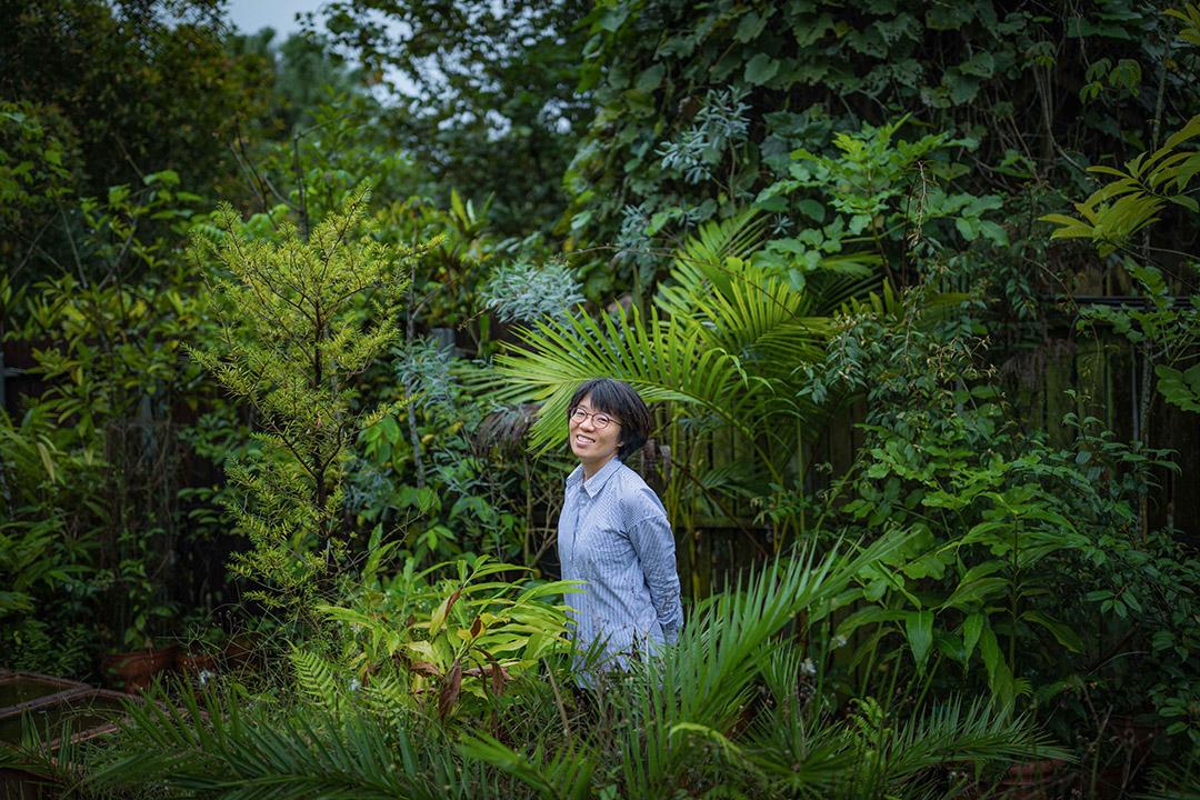 台北植物園園長范素瑋。