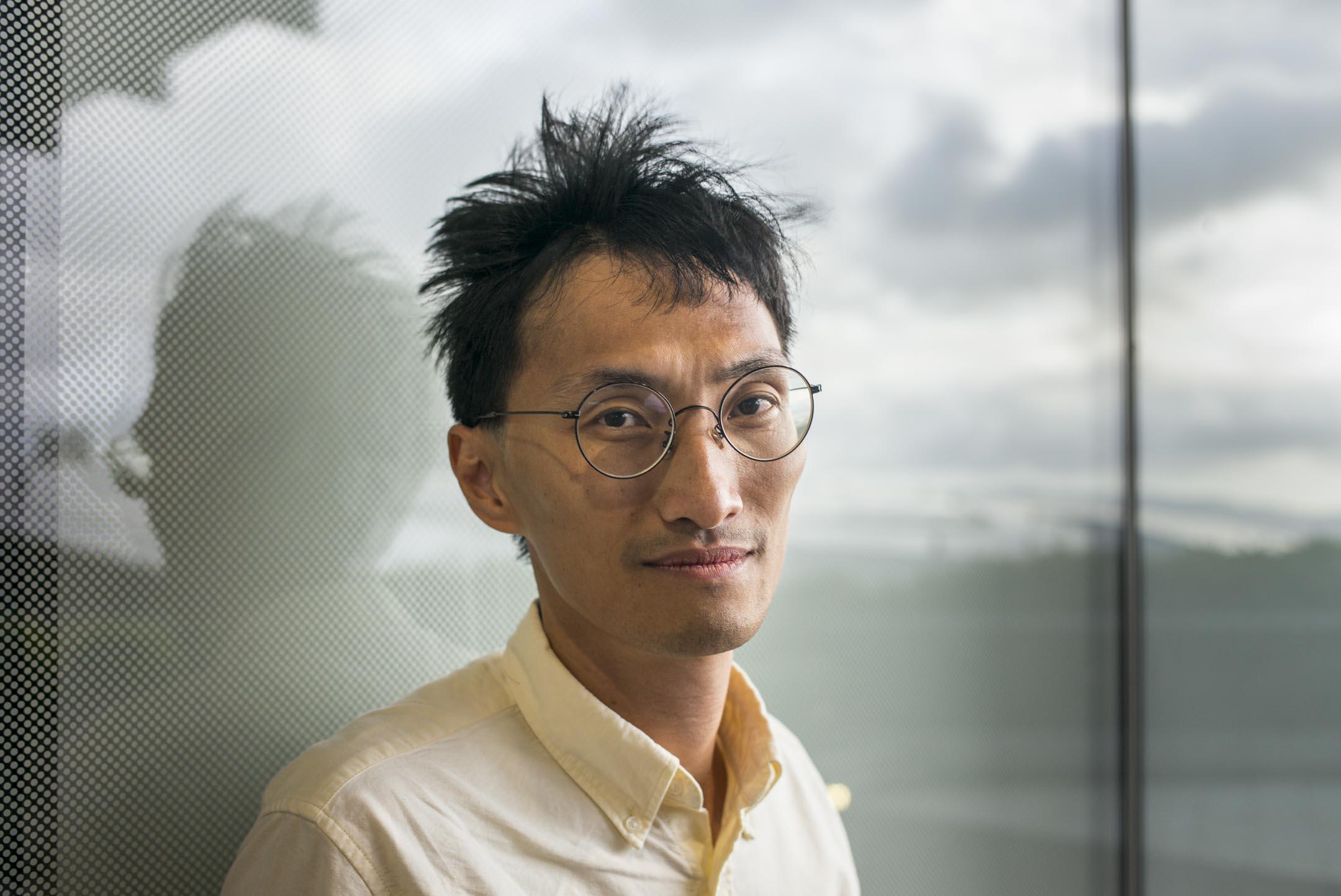 香港立法會議員朱凱廸,2019年8月初在立法會接受端傳媒訪問。 攝:林振東/端傳媒