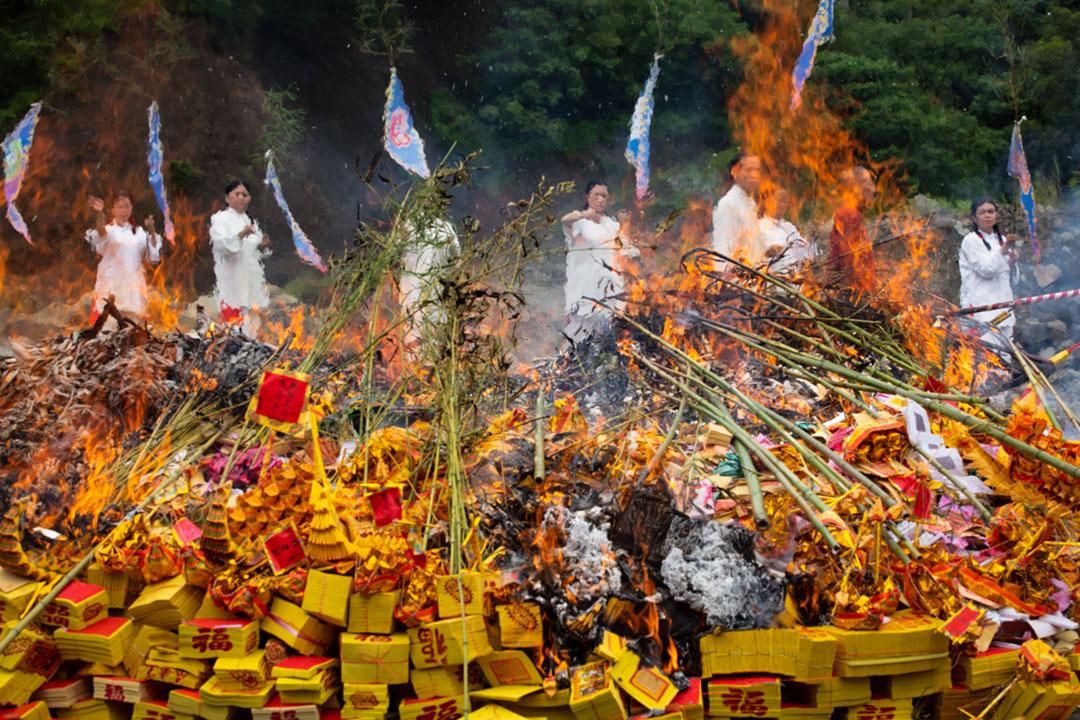 2019年7月21日,小林村十週年公祭。