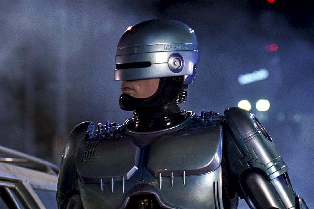 1987年的科幻電影《RoboCop 機器戰警》劇照。 網上圖片
