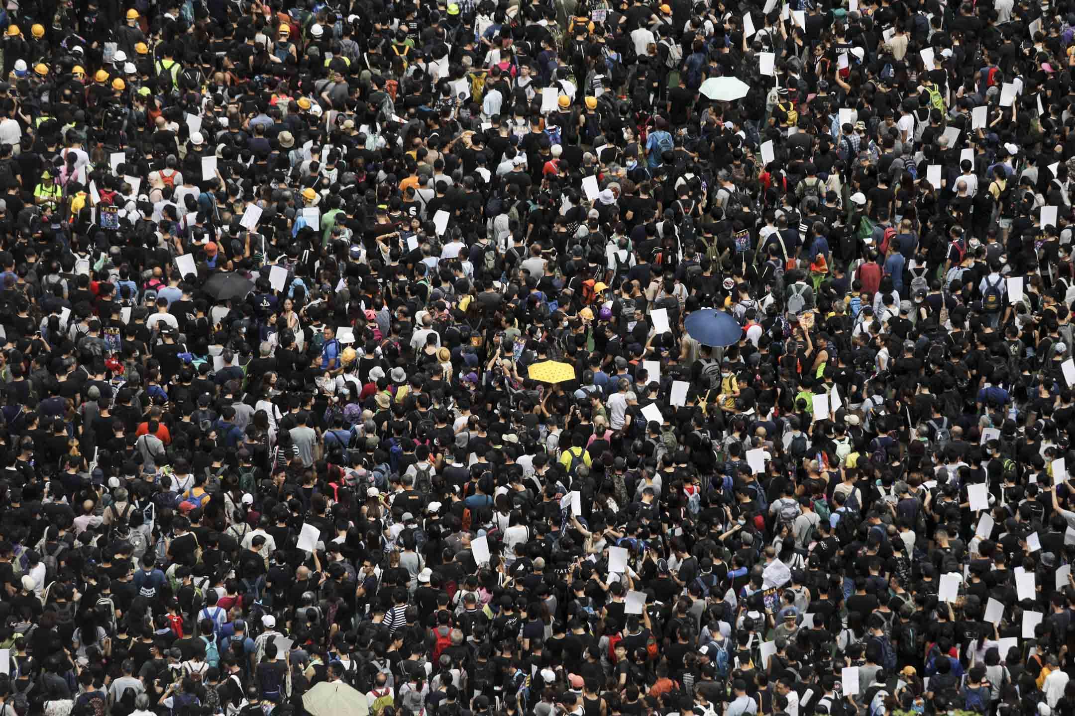 2019年8月3日,「旺角再遊行」獲警方發出不反對通知書,遊行於下午2時半開始,直至晚上9時,路線以晏架街公園起步。