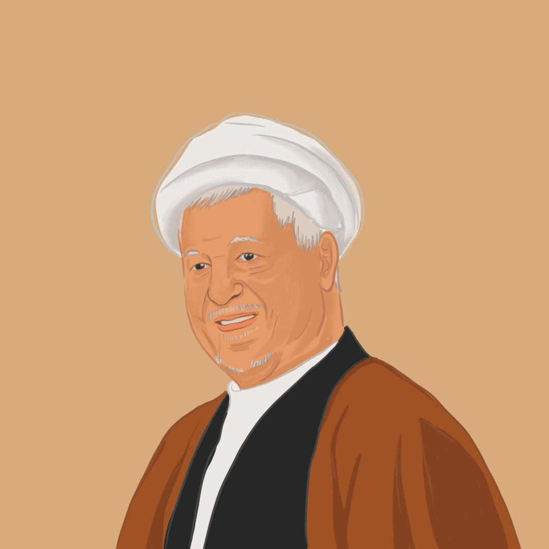 阿克巴爾·拉夫桑賈尼(1934-2017),伊朗革命元老,1989-1997年為伊朗總統。