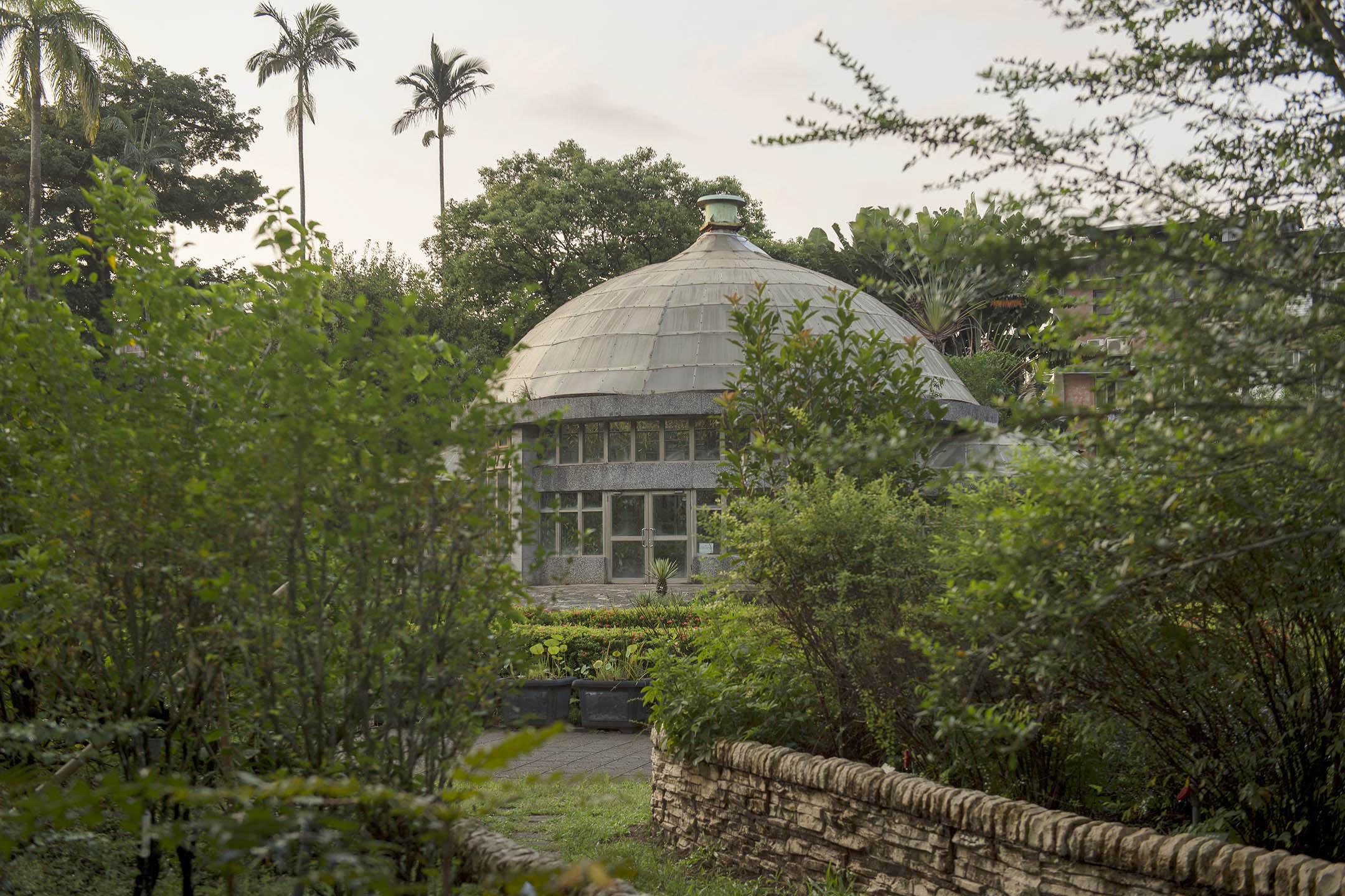 台北植物園的溫室。 攝:林彥廷/端傳媒