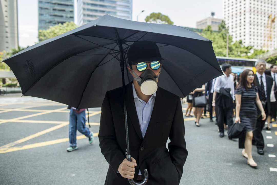 2019年8月7日,法律界發起黑衣遊行,主題為「不要政治檢控,要求成立獨立調查委員會」。 攝:林振東/端傳媒