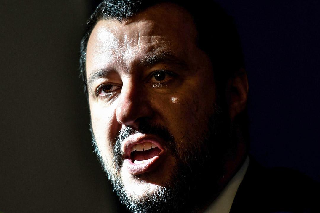 意副總理兼內政部長、聯盟黨黨首薩爾維尼(Matteo Salvini)。