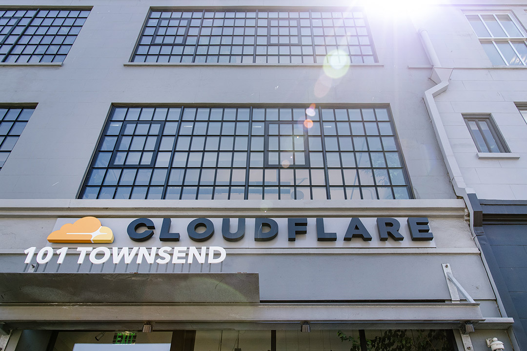 美國加利福尼亞州舊金山的Cloudflare公司總部。