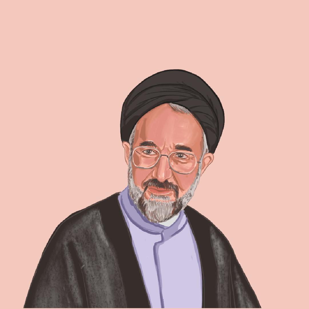 穆罕默德·哈塔米,1997至2005年擔任伊朗總統,被認為是改革派的代表。