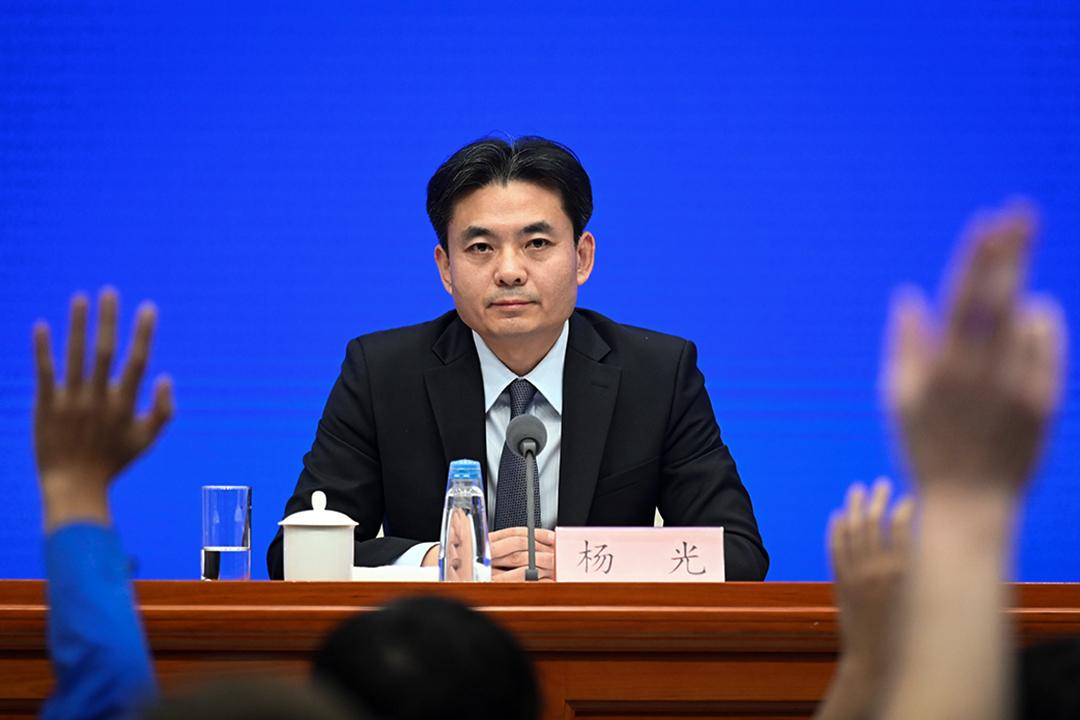2019年7月29日,中國大陸港澳事務辦公室發言人楊光在北京舉行的新聞發布會上回答了有關香港持續示威的問題。