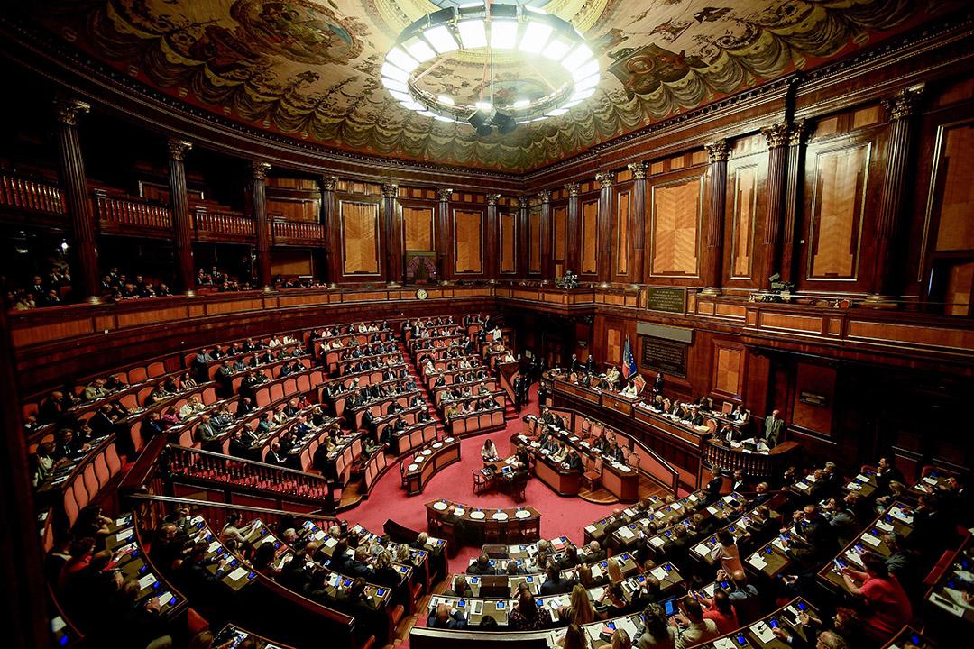 意大利議會。 攝:Filippo Monteforte/AFP via Getty Images