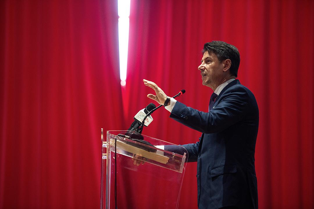 意大利總理孔特(Giuseppe Conte)。