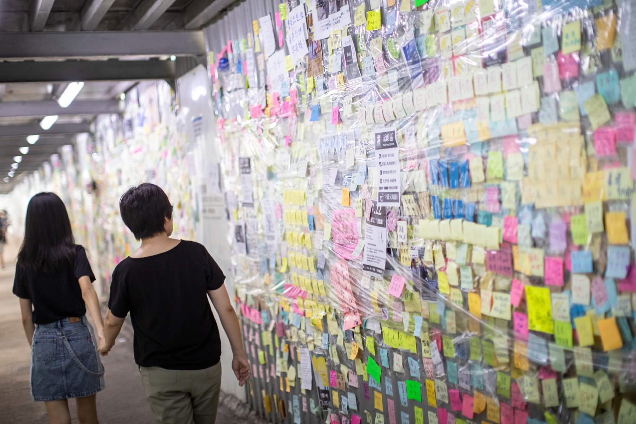 安琪與母親。 攝:Stanley Leung/端傳媒