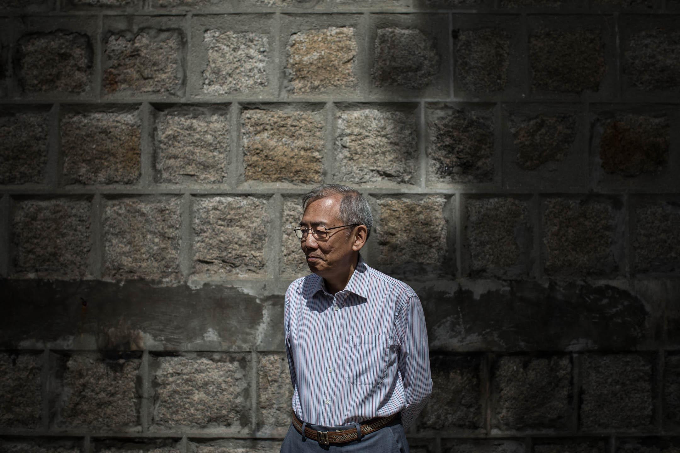 王永平。 攝:Stanley Leung/端傳媒