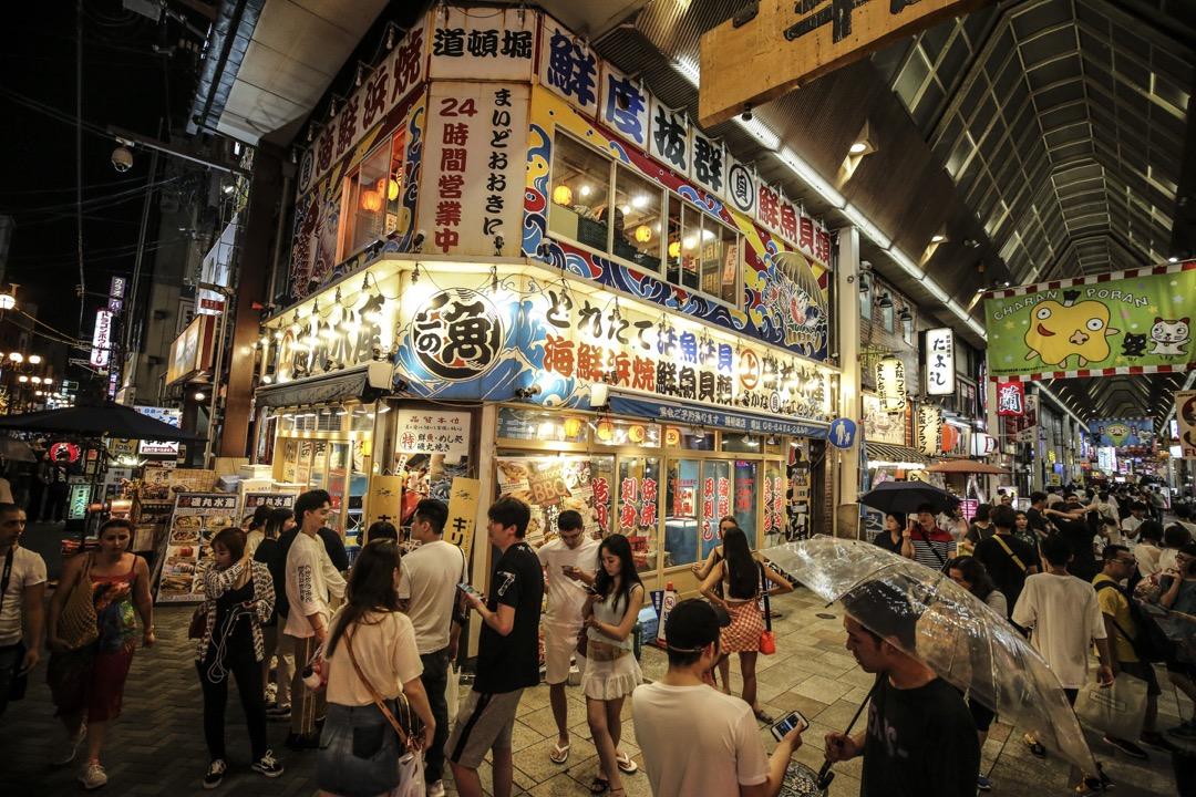 G20領導人會議選擇在大阪召開,不斷被強調的城市魅力最重要的就是食物的吸引力。 攝:Metin Aktas/Anadolu Agency/Getty Images