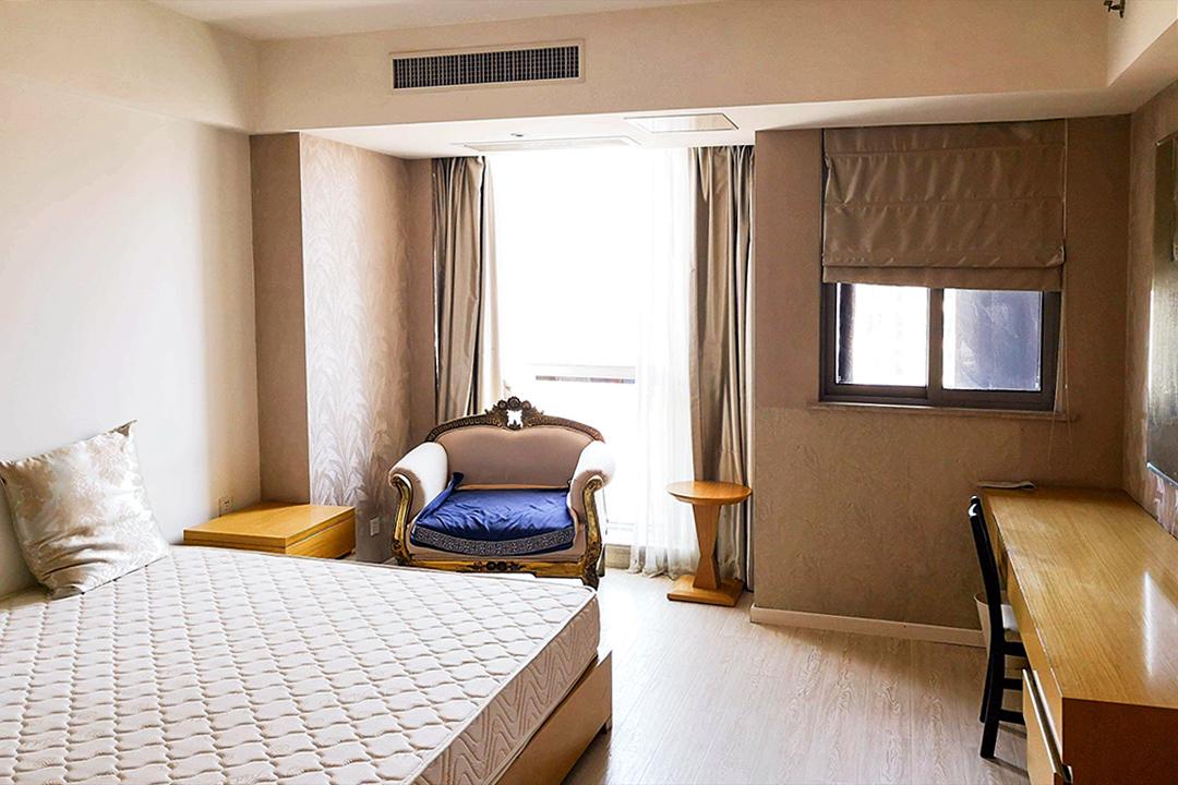 樂伽公寓官網上的公寓。 圖 : 樂伽公寓官網