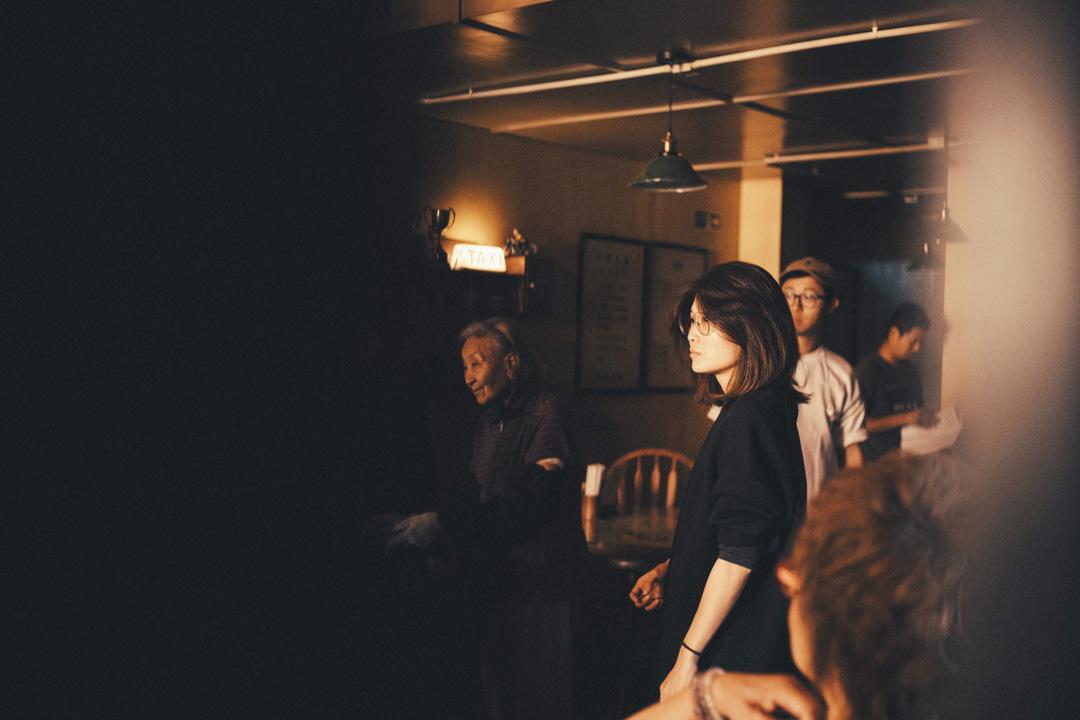 麥曦茵在《花椒之味》拍攝現場。