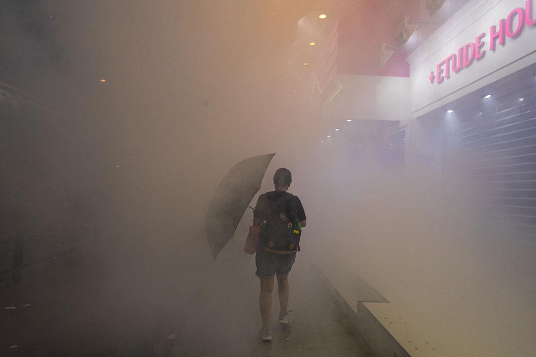 9月15日,晚上8點左右,銅鑼灣站。