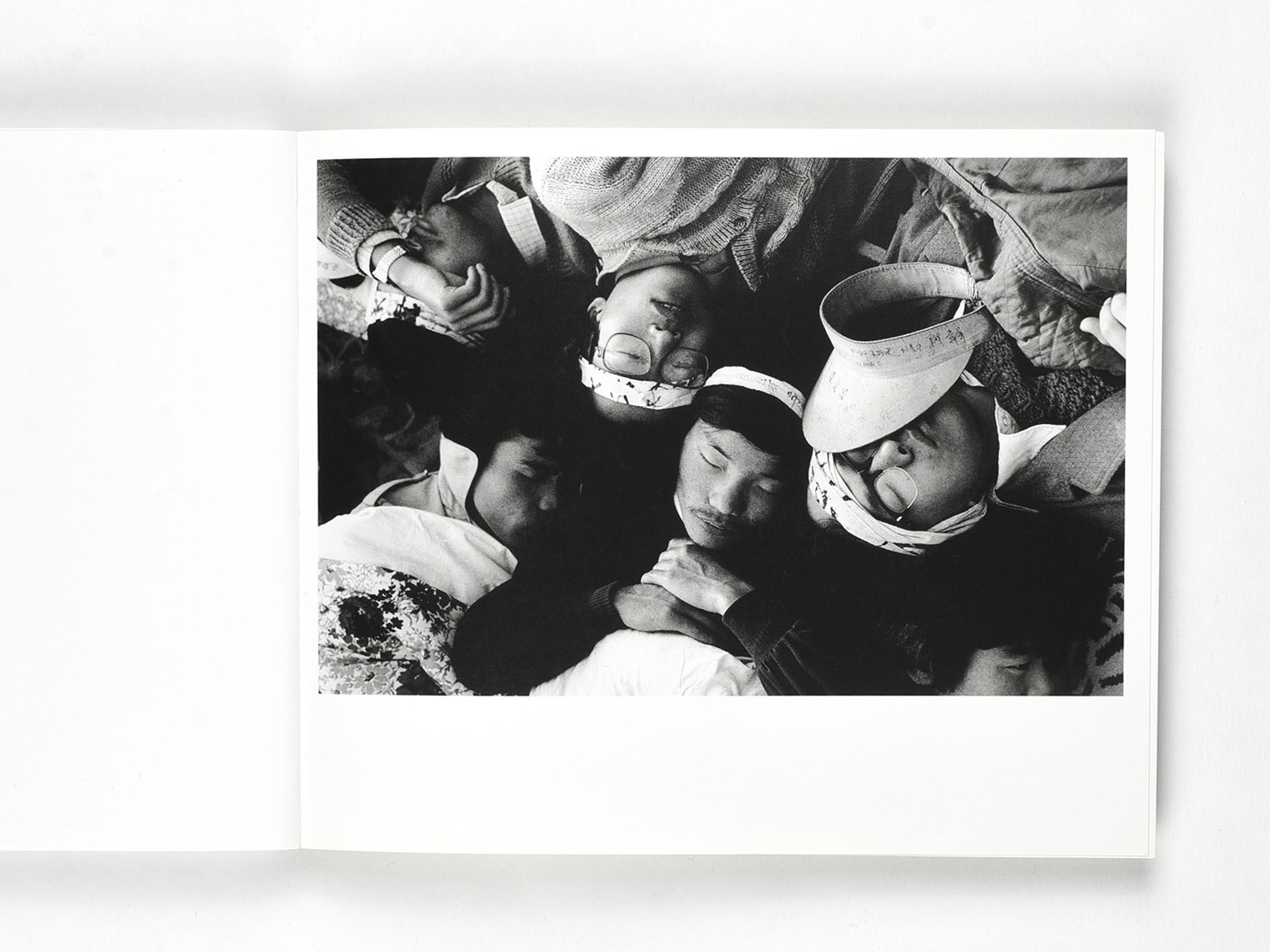 黃勤帶《89廣場的日子》。 圖:作者提供