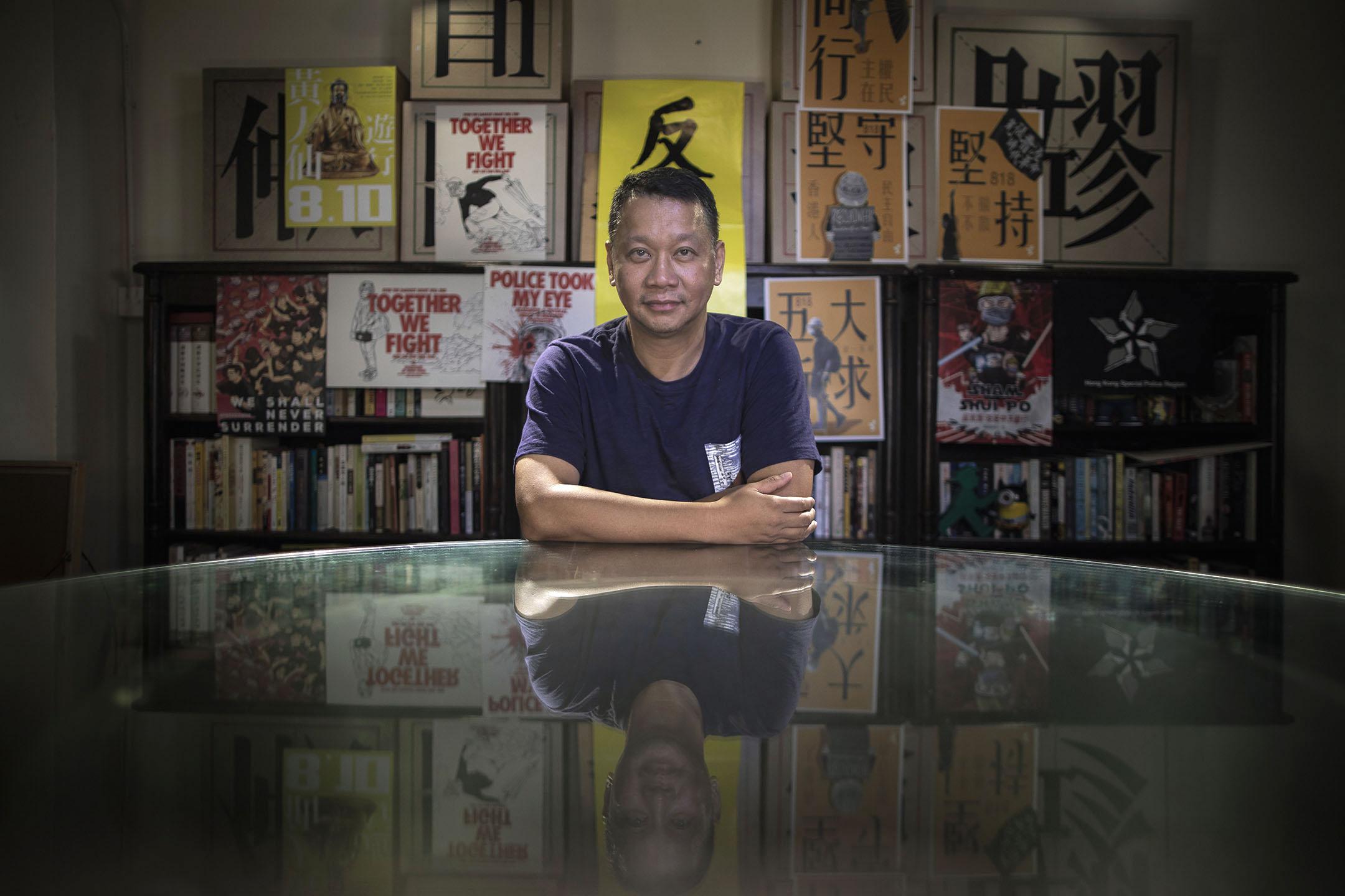 時事評論員劉細良。 攝:陳焯煇/端傳媒