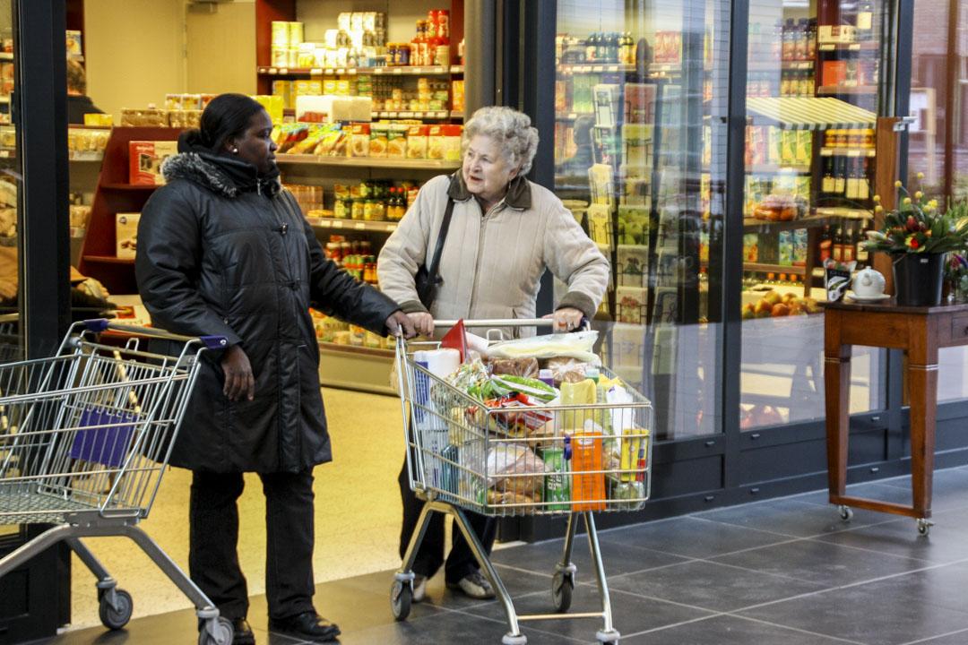 霍格韋克內的超級市場。